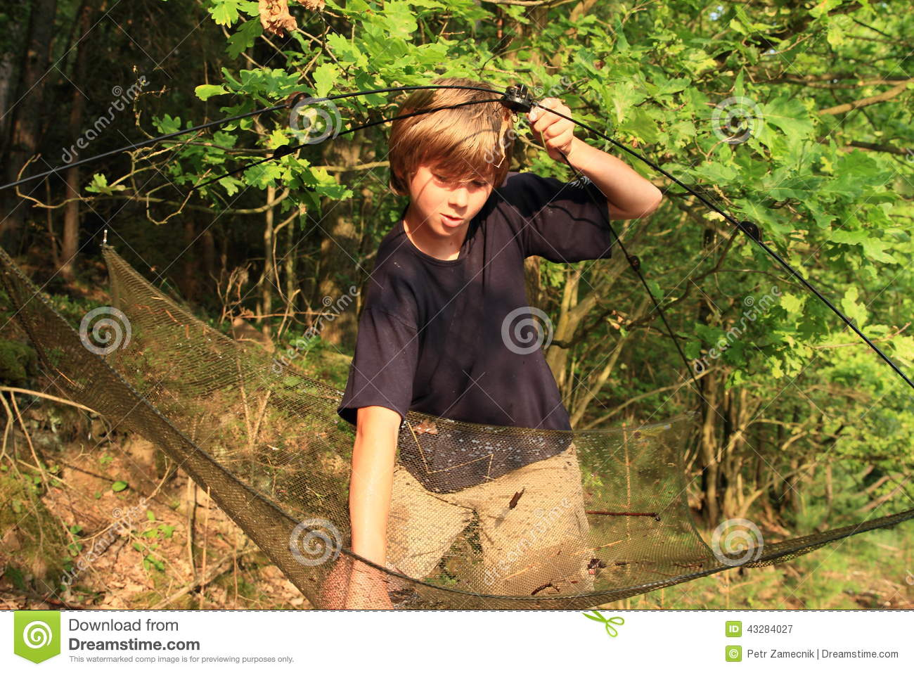 Fishing boy stock photo image 43284027 for Little boy fishing