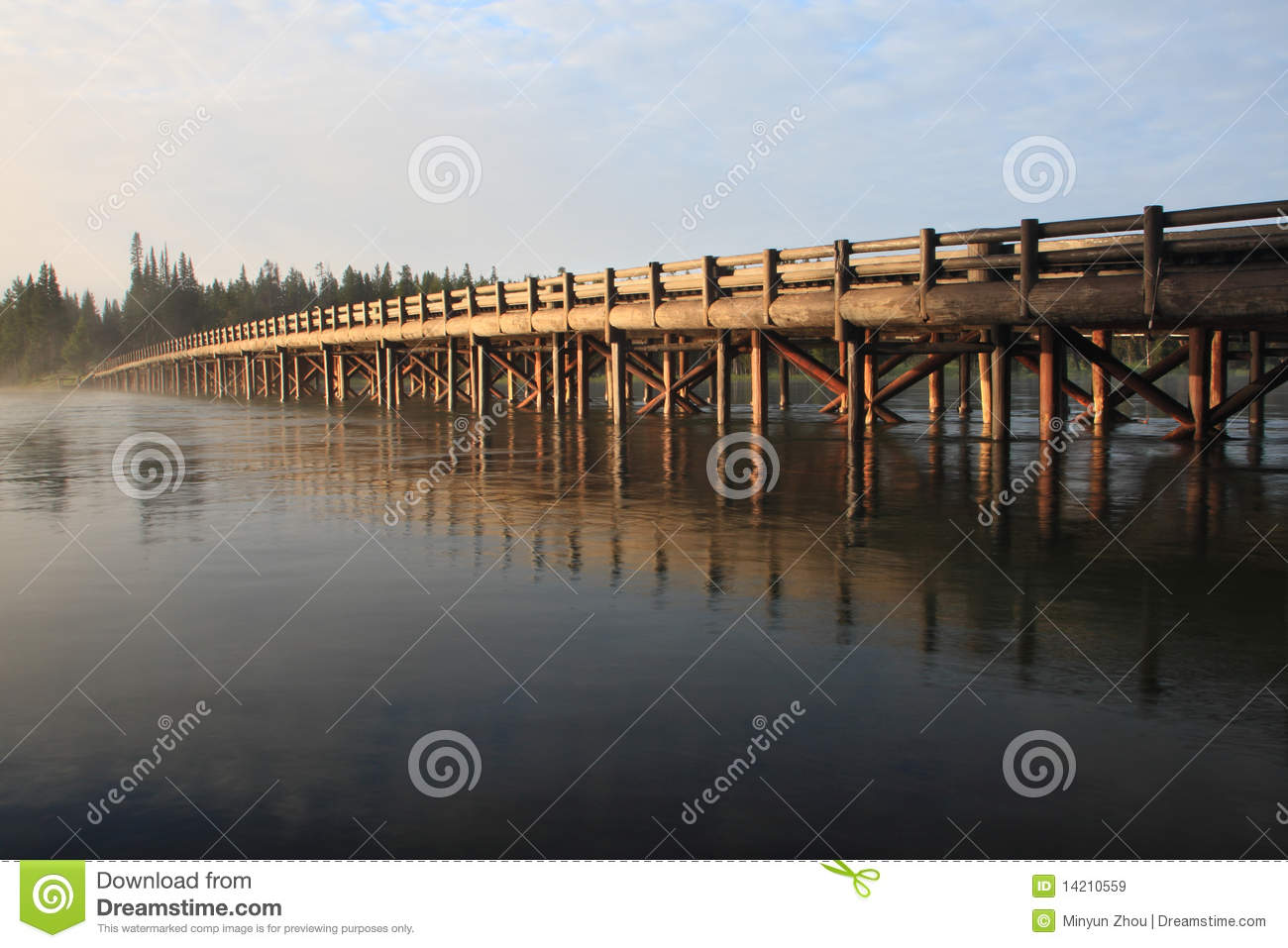 Fishing bridge yellowstone national park stock image for Yellowstone national park fishing