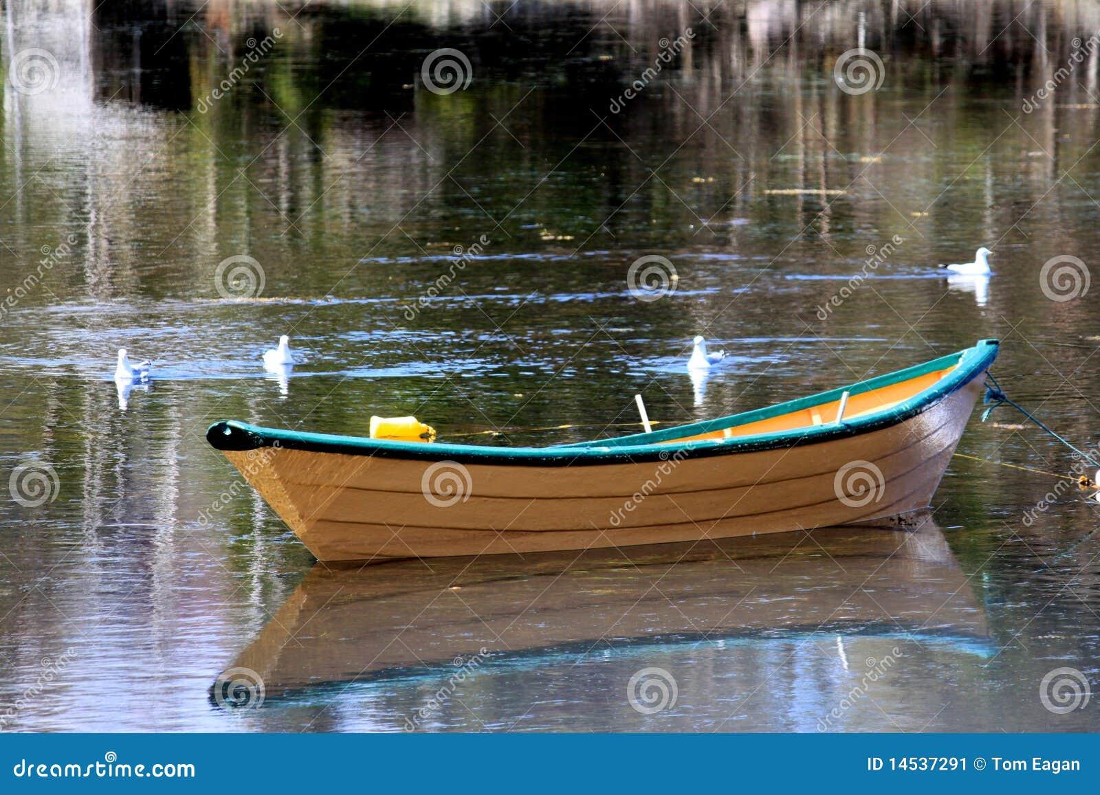 Fishing Dory Stock Image - Image: 14537291