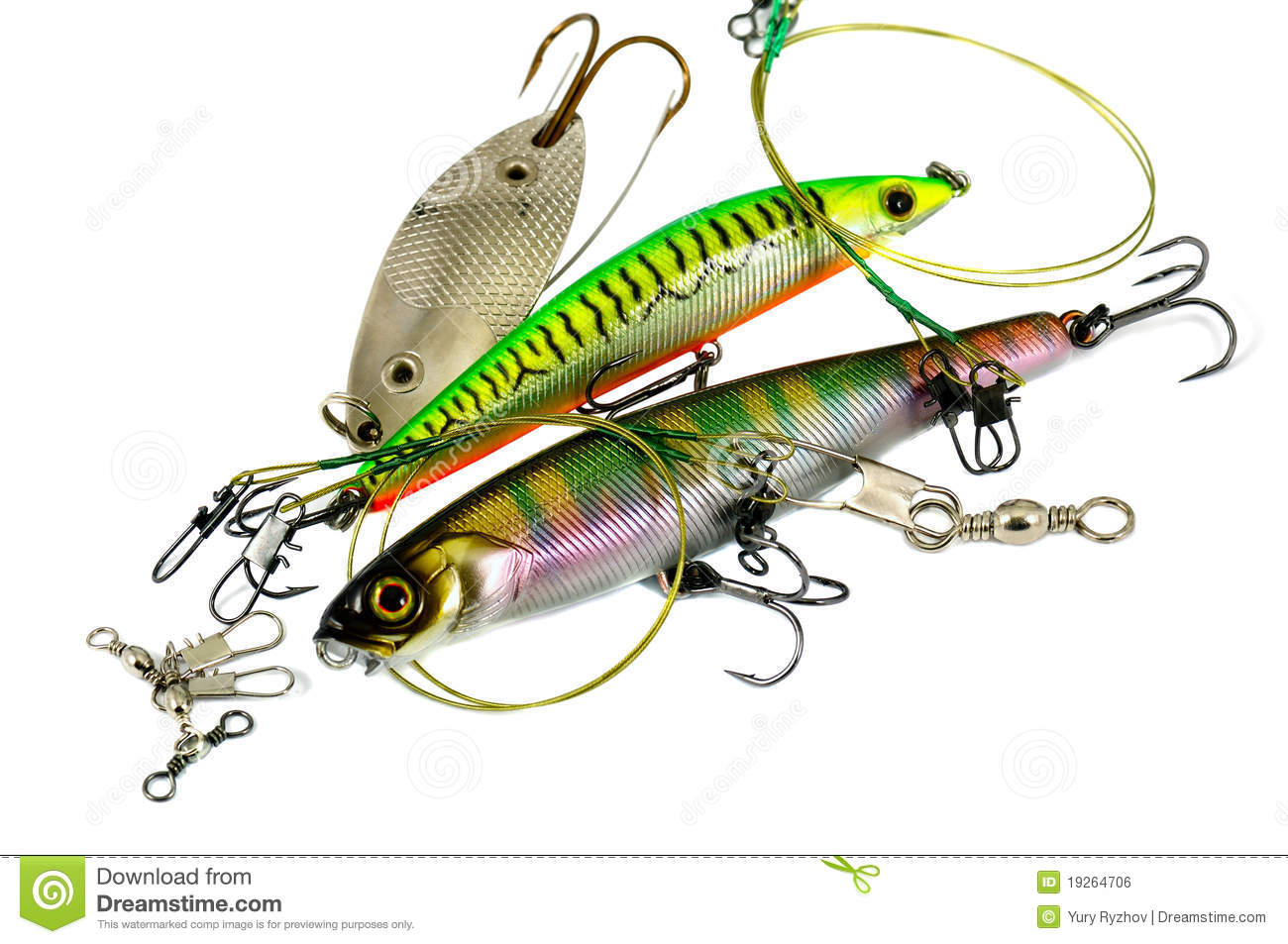 Fishing equipment stock photo image of sharp isolated for Fishing times free