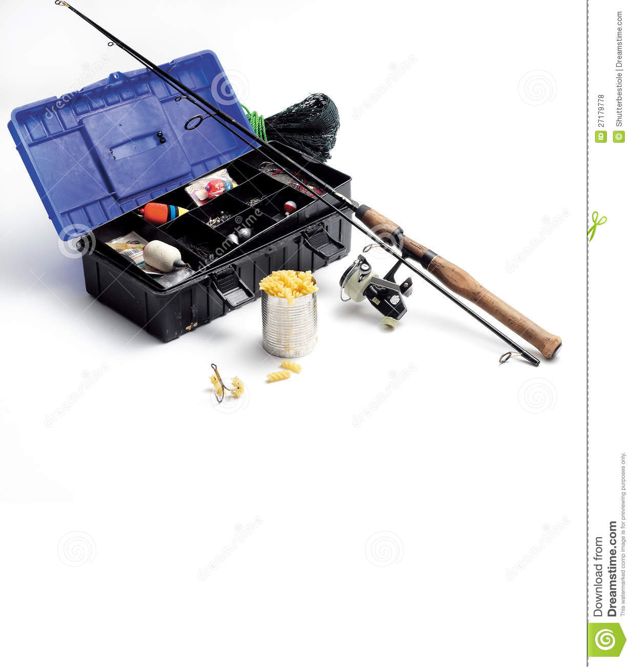 Fishing Equipment Royalty Free Stock Photos - Image: 27179778