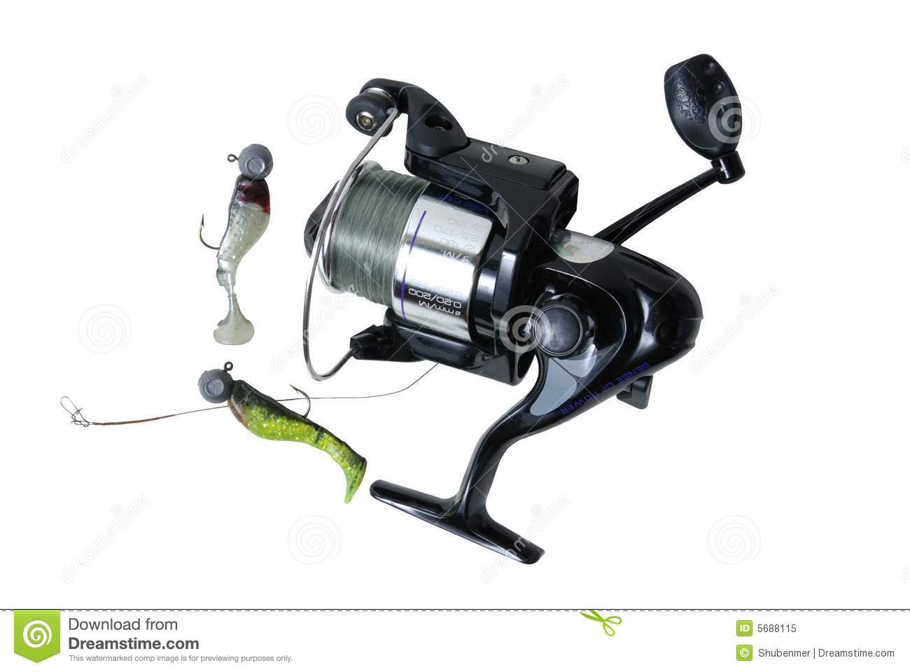 Fishing equipment stock image. Image of relaxation, fish ...