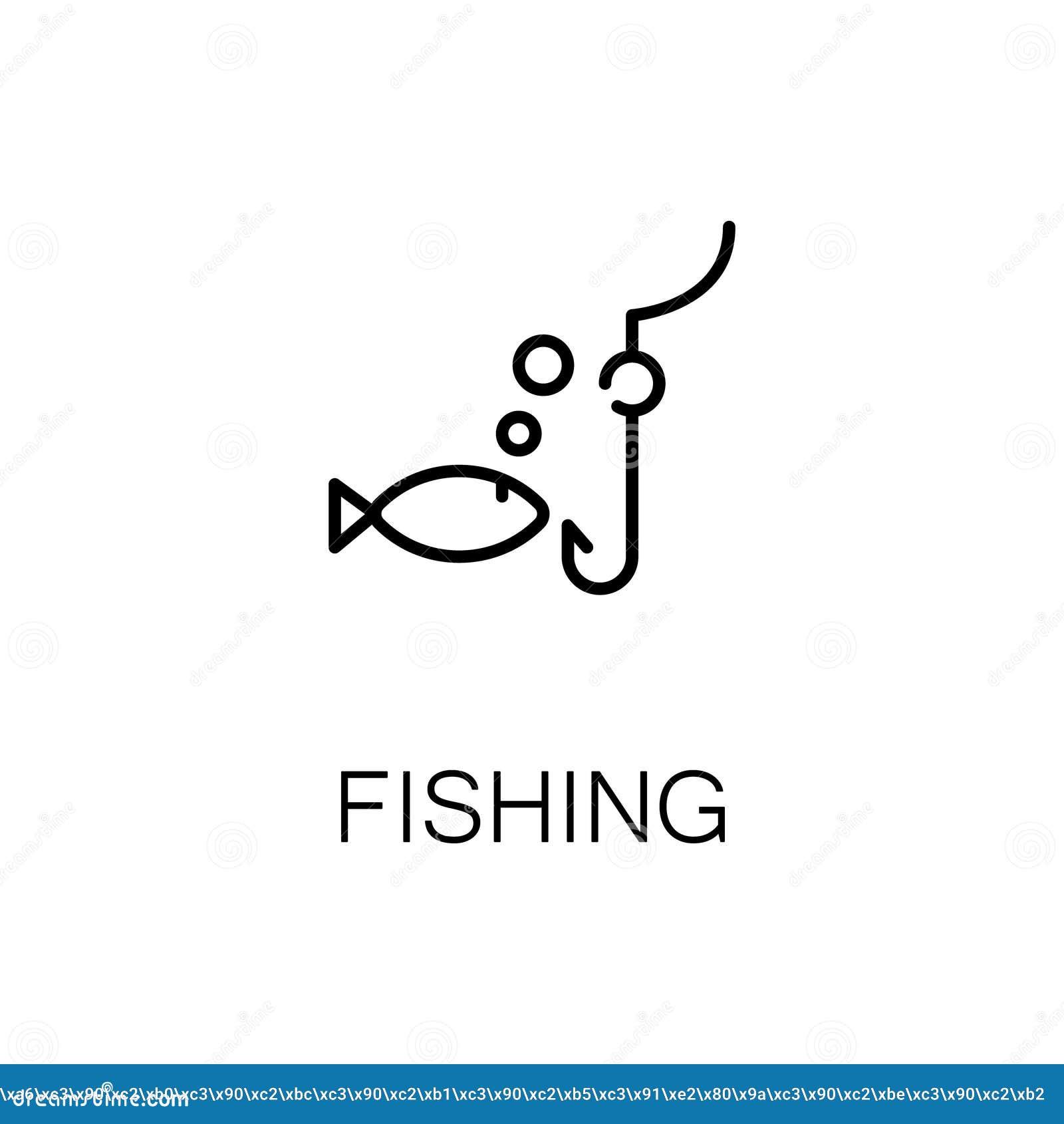sea bass fish icon  simple style cartoon vector
