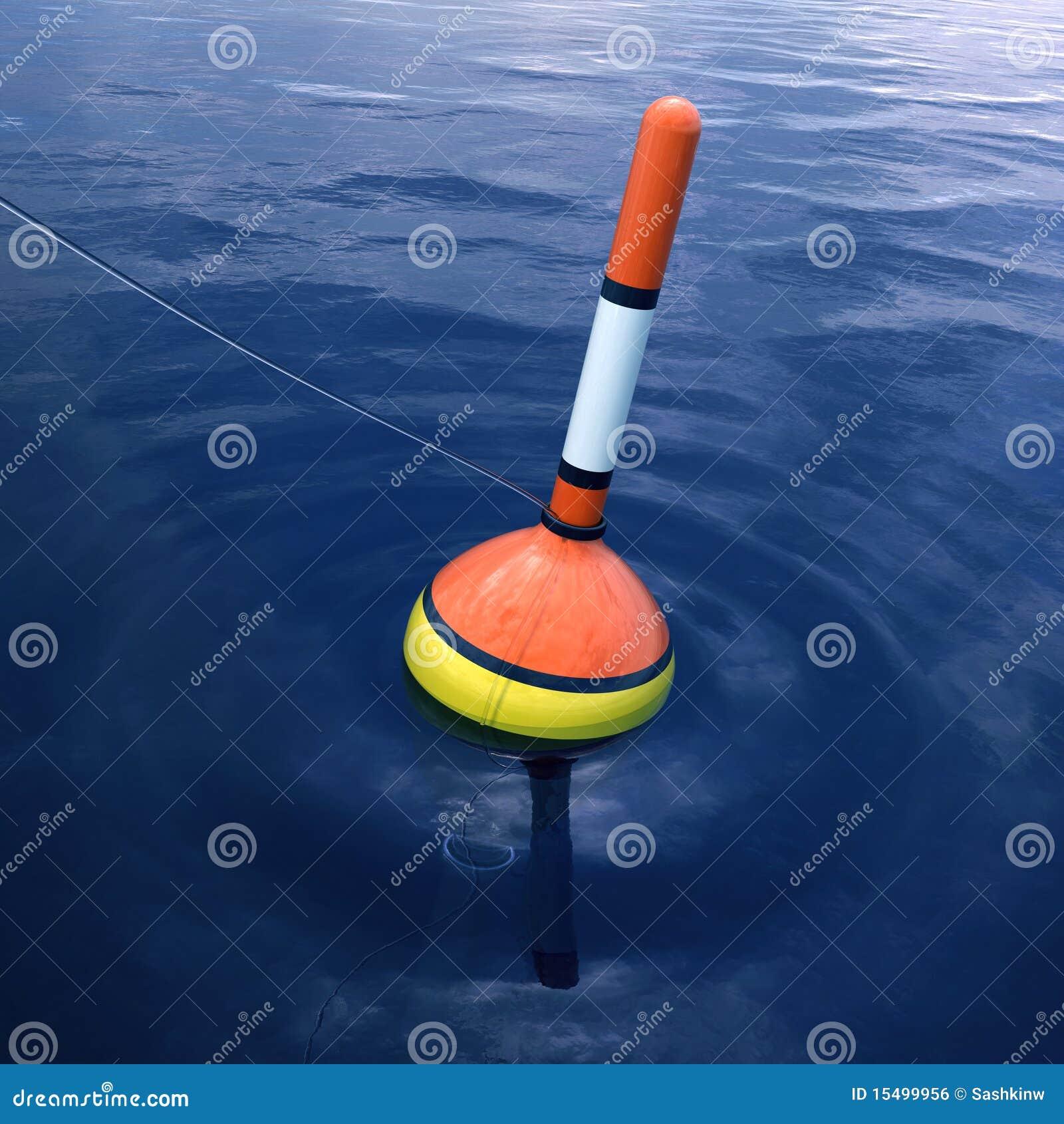Fishing float stock illustration illustration of line for Floating fishing line
