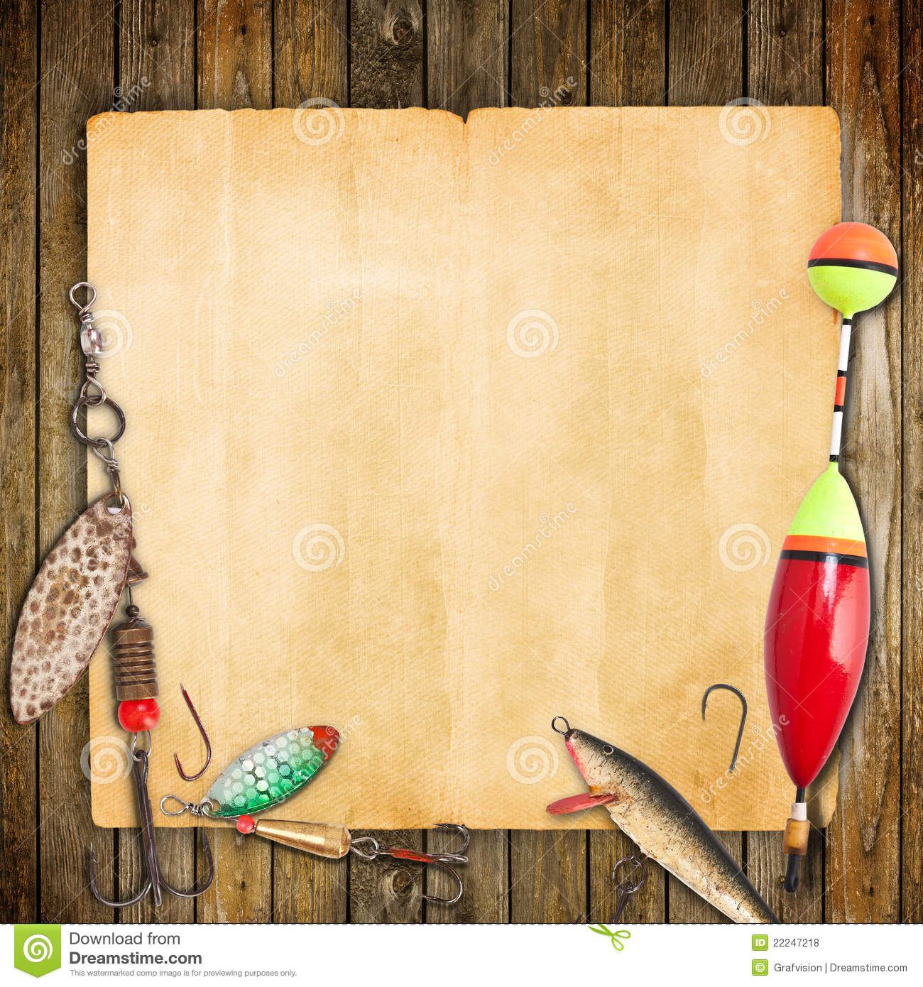 Fishing frame stock photo image of long light hobby for Fishing times free