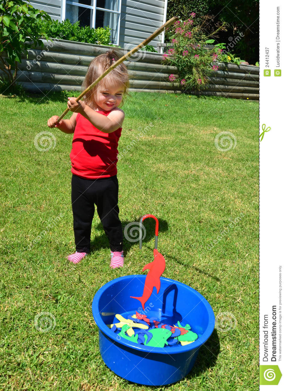 Fishing game royalty free stock photography image 24412437 for Fishing games for girls