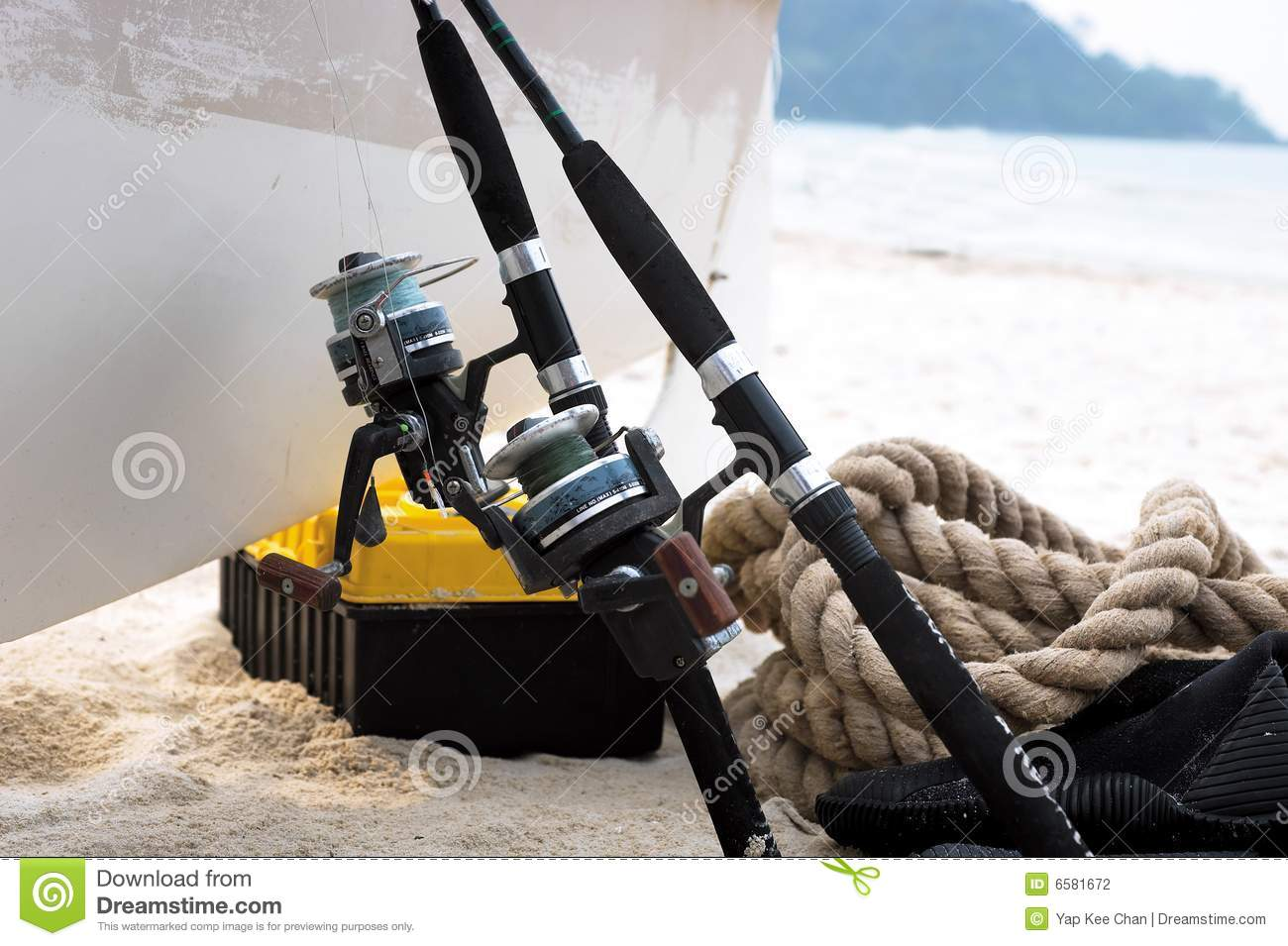 Fishing gear royalty free stock photography for Free fishing stuff