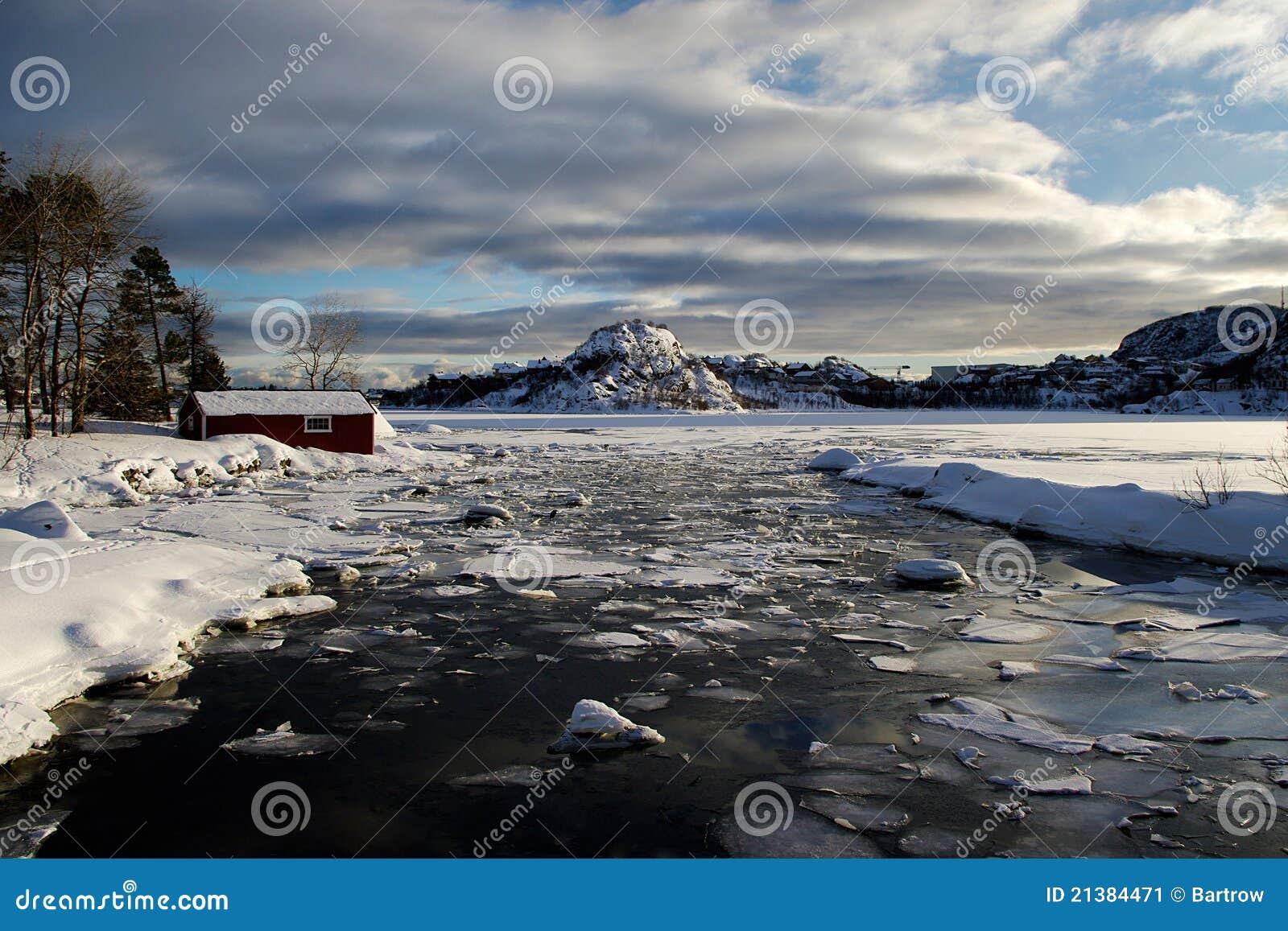 ice climbing norway lofoten fishing