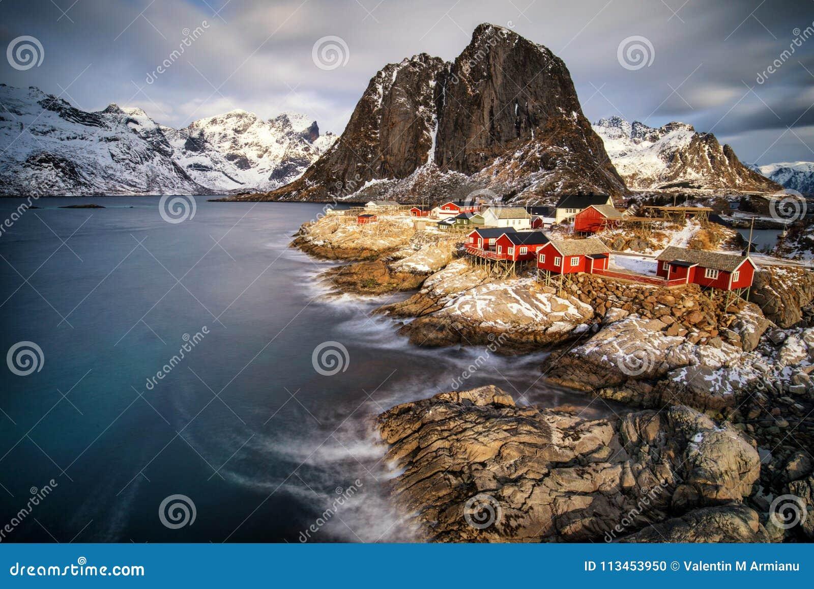 Fishing Hut Village in Hamnoy, Norway