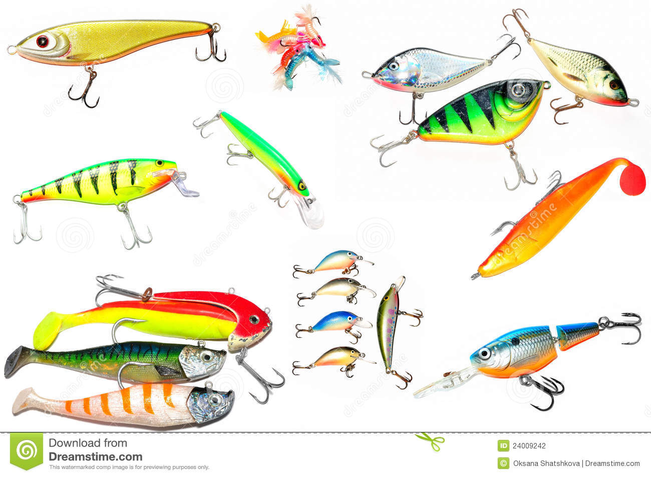 Fishing lure wobbler stock photography image 24009242 for How to make a fishing lure