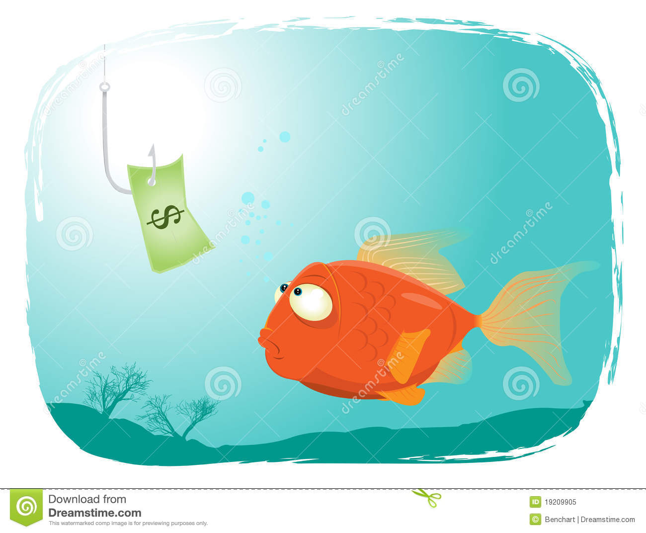 Fishing with money royalty free stock photo image 19209905 for Fish for cash