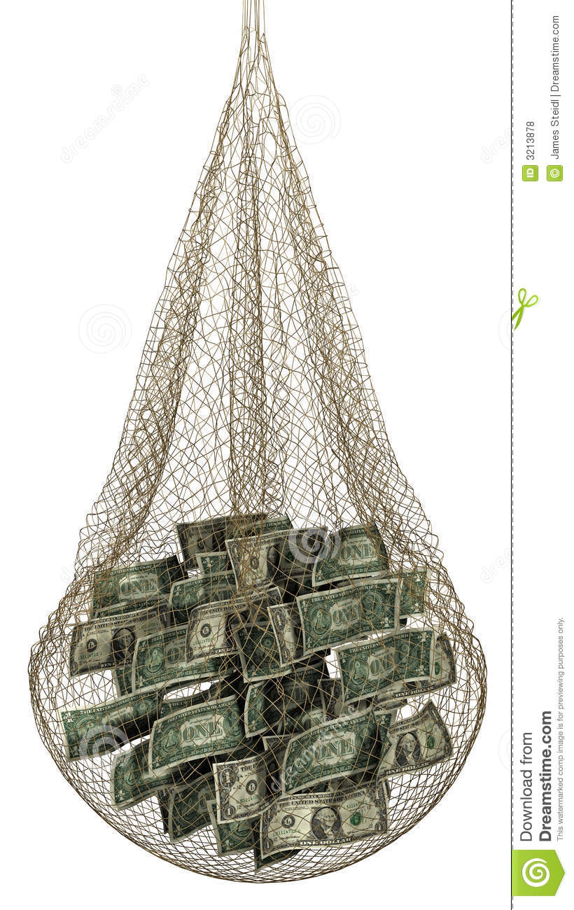 Fishing for money royalty free stock photos image 3213878 for Fish for cash