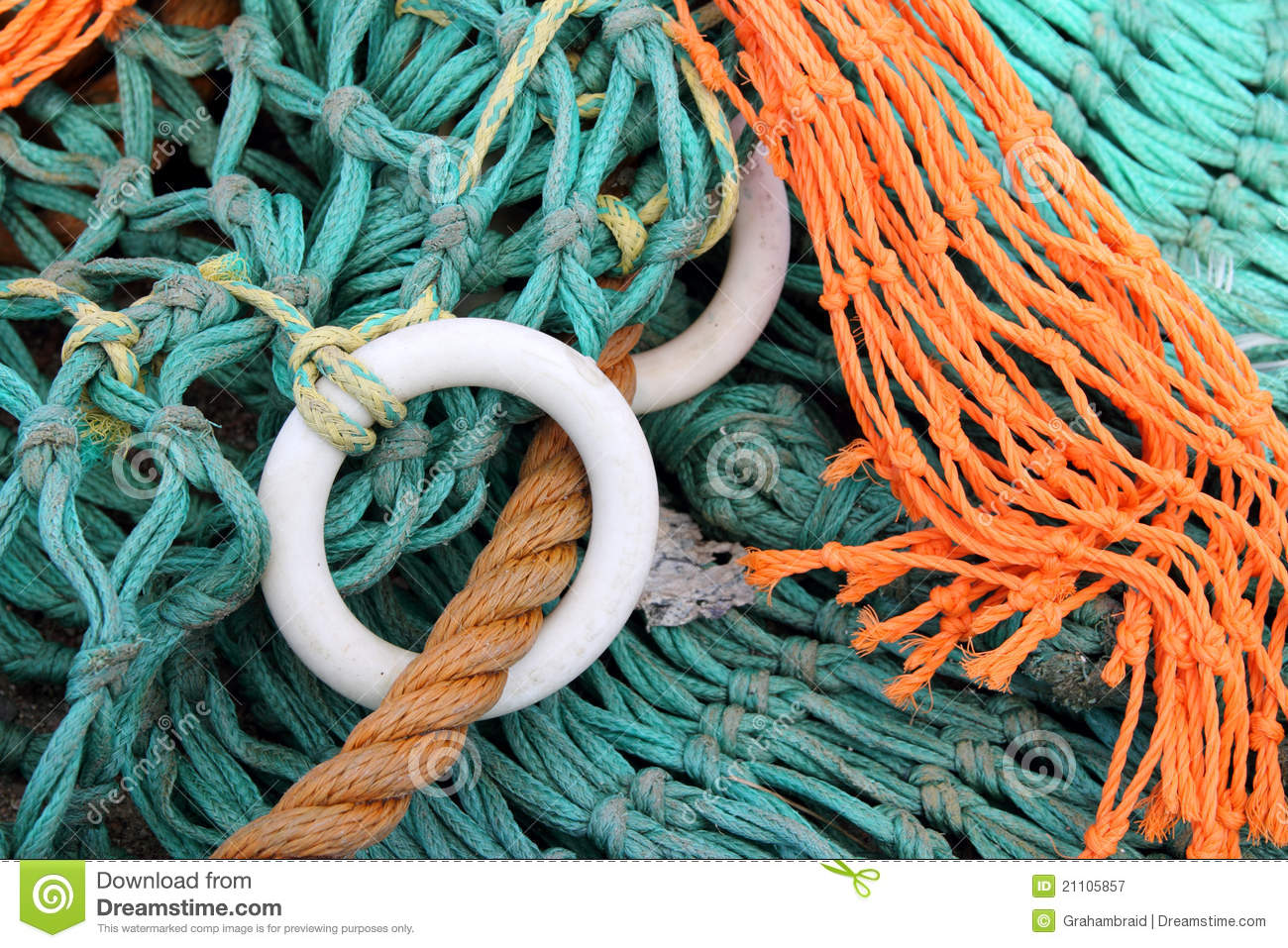 Fishing nets and floats royalty free stock photography for Fishing net floats