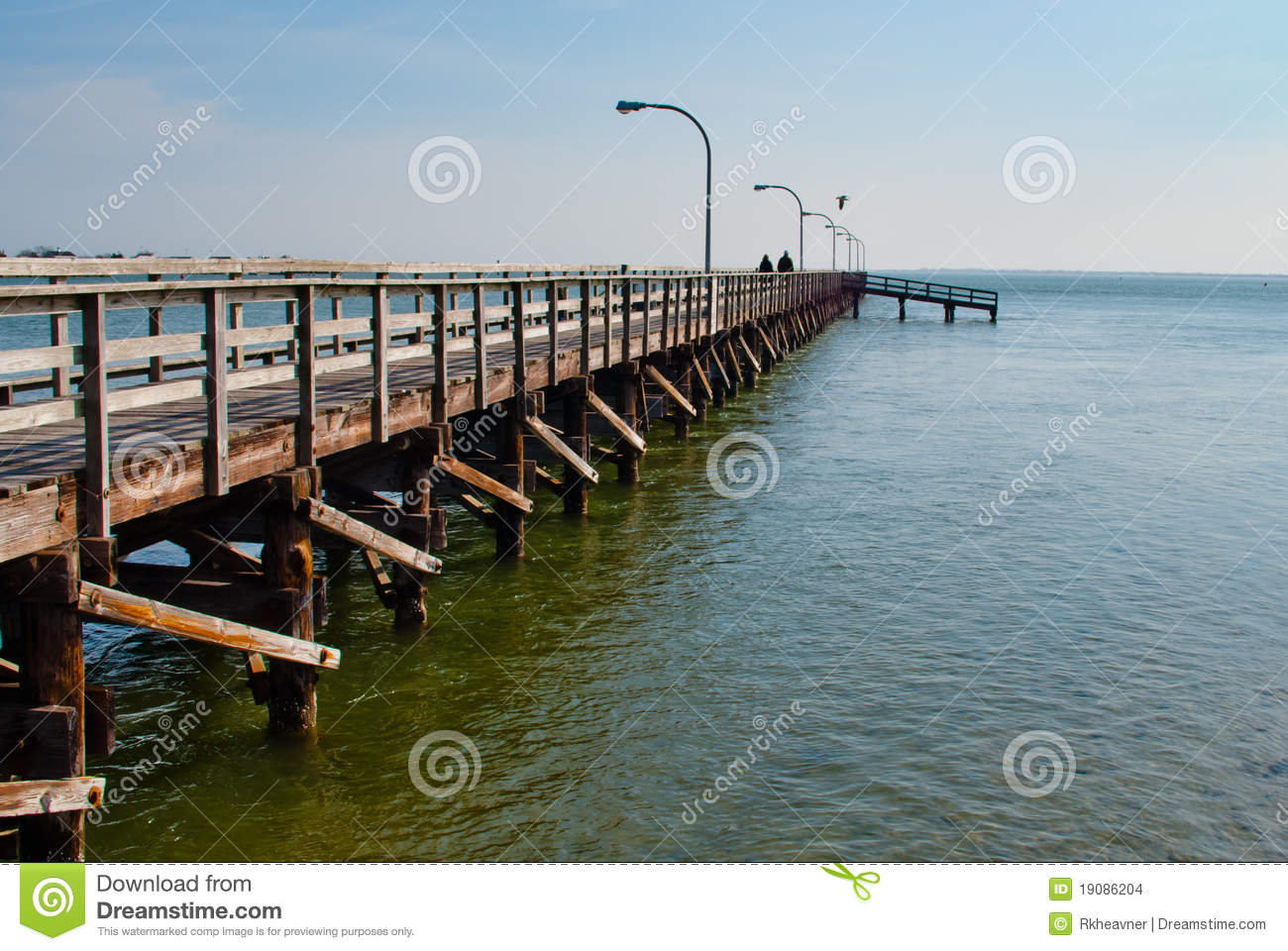 Fishing pier stock images image 19086204 for Captree state park fishing