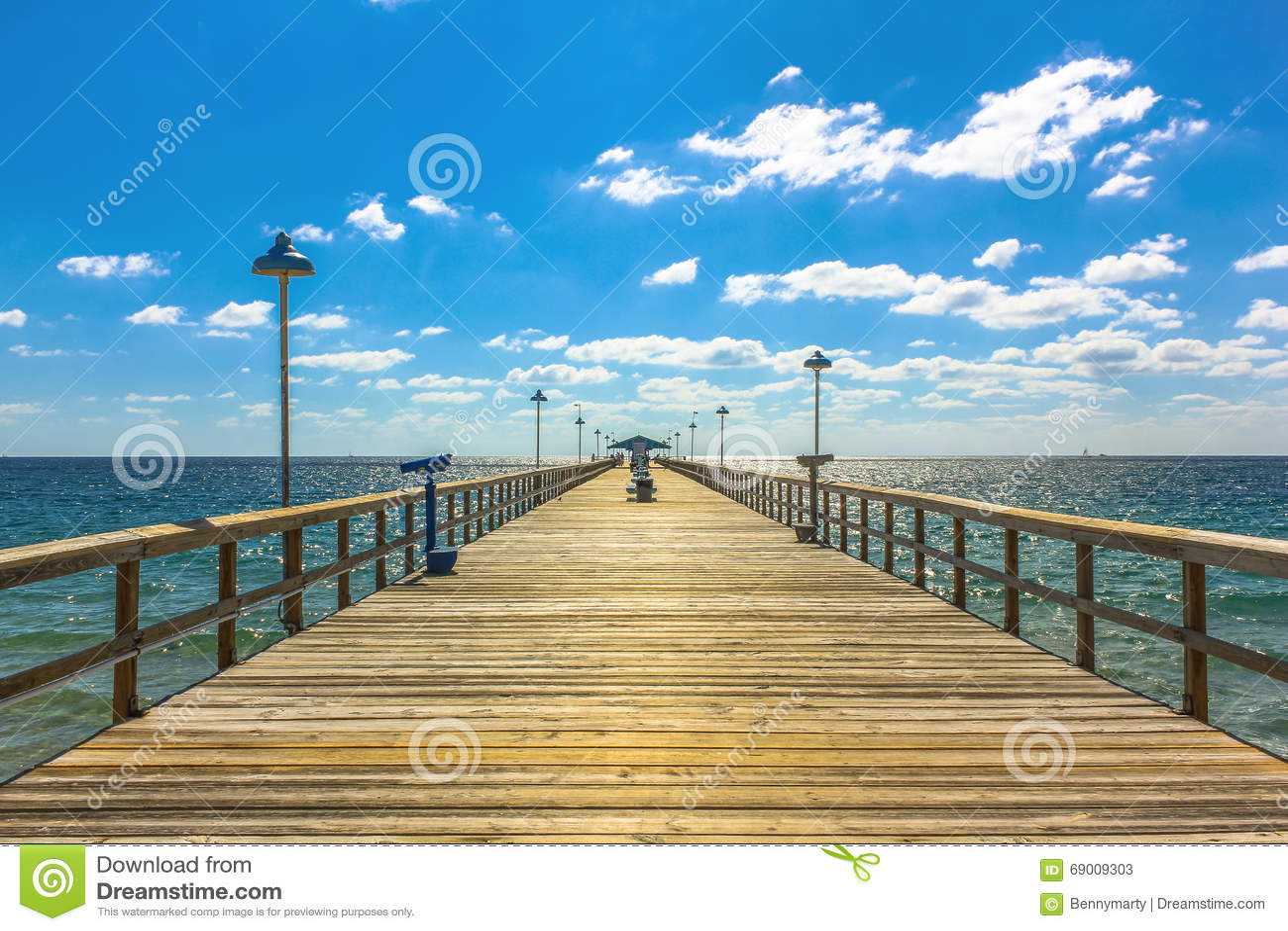 Fishing pier royalty free stock image for Florida free fishing days