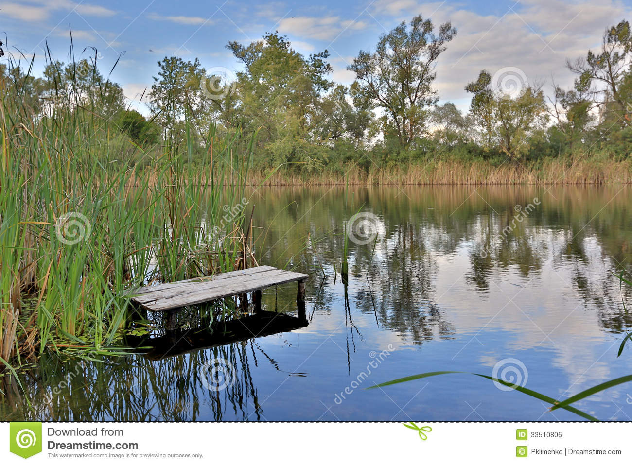 Fishing place on river royalty free stock image image for Nearby fishing places