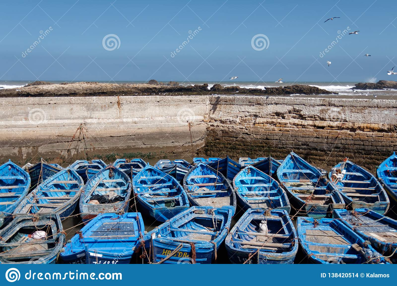 Fishing port in Essaouira, Morocco 2