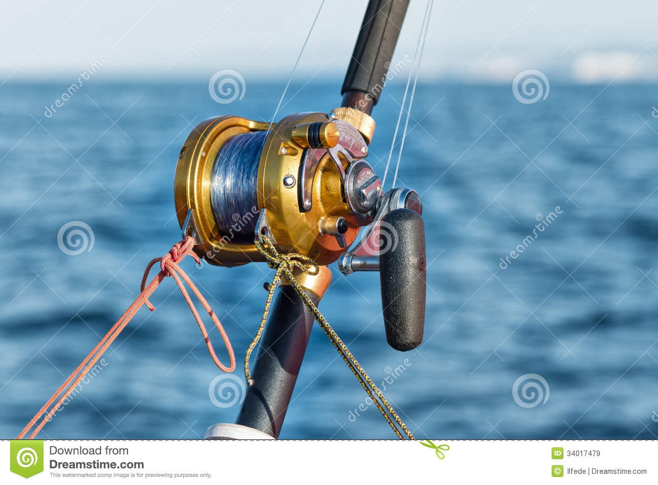 Fishing reel and pole royalty free stock images image for Reel fishing game