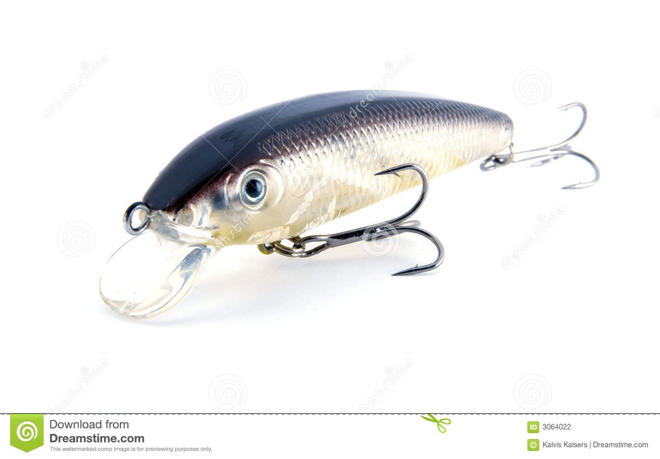 Fishing river lure transparent stock photography image for Best lures for river fishing