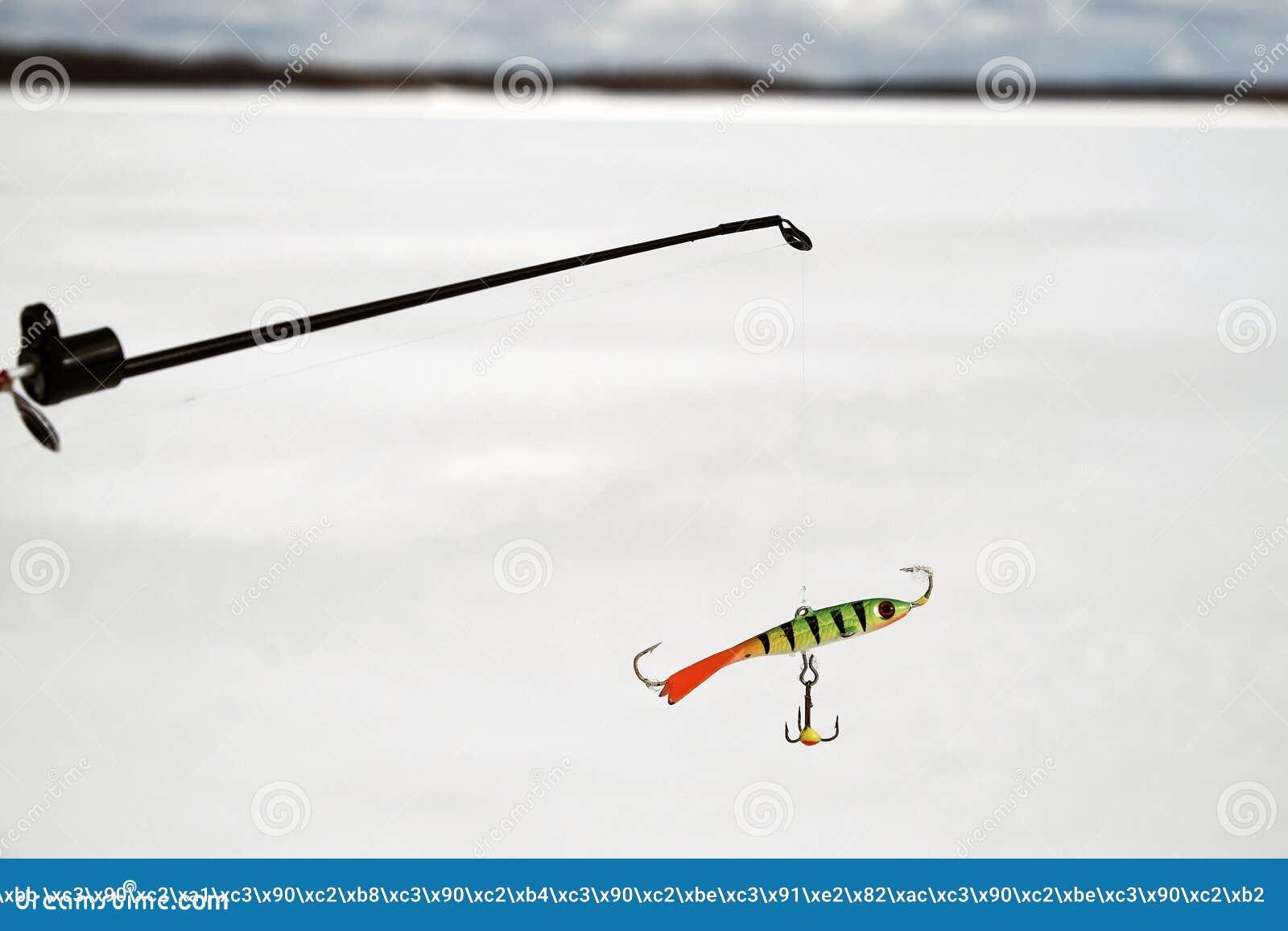 Fishing rod for winter fishing 27