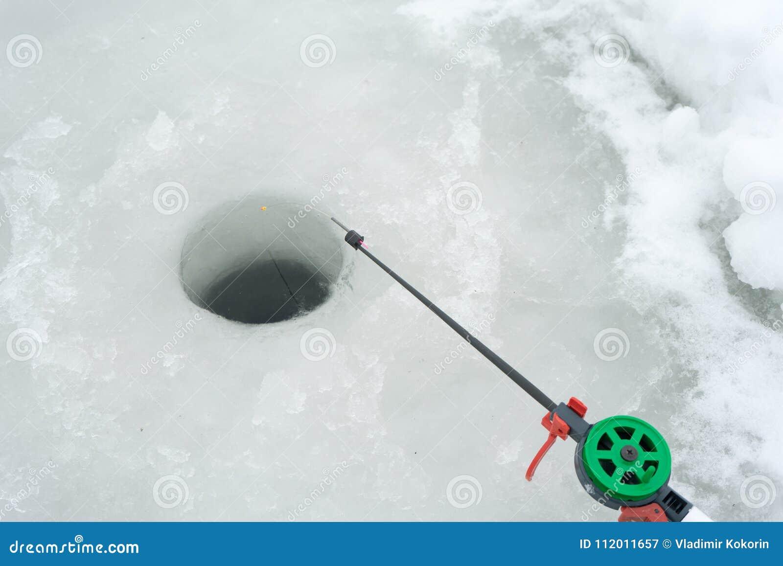 Fishing rod for winter fishing 77