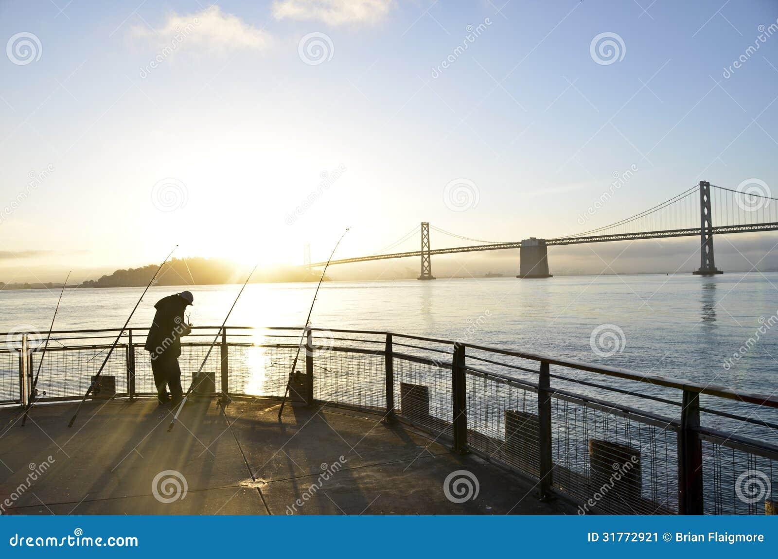 Fishing san francisco bay stock image image 31772921 for San francisco fishing