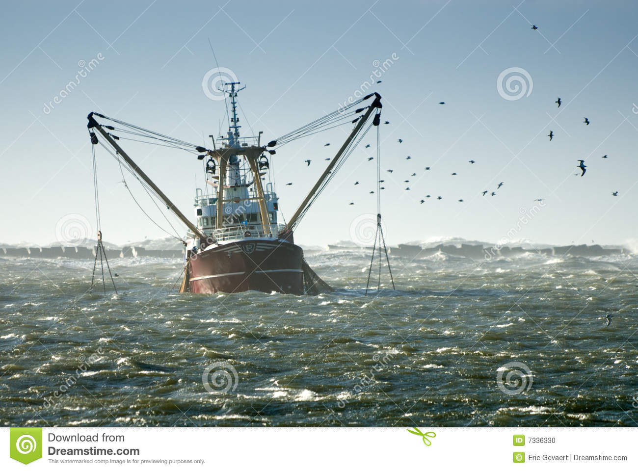 Fishing ship