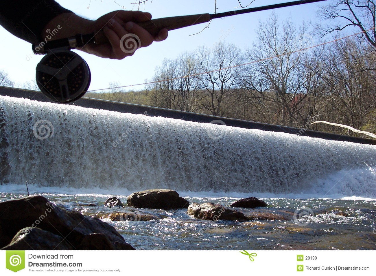 Fishing the Spillway