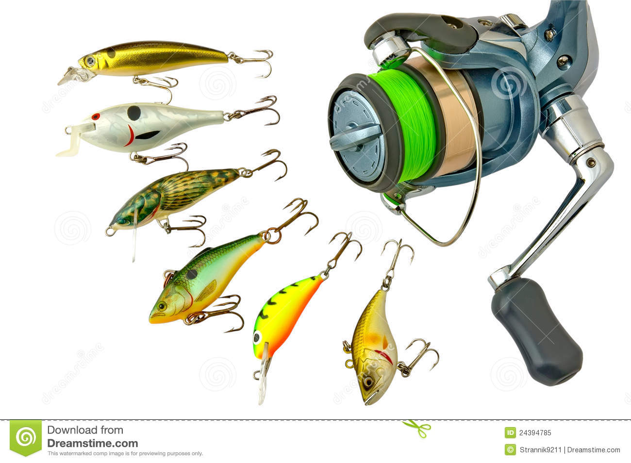 fishing tackle stock image image of predator catch