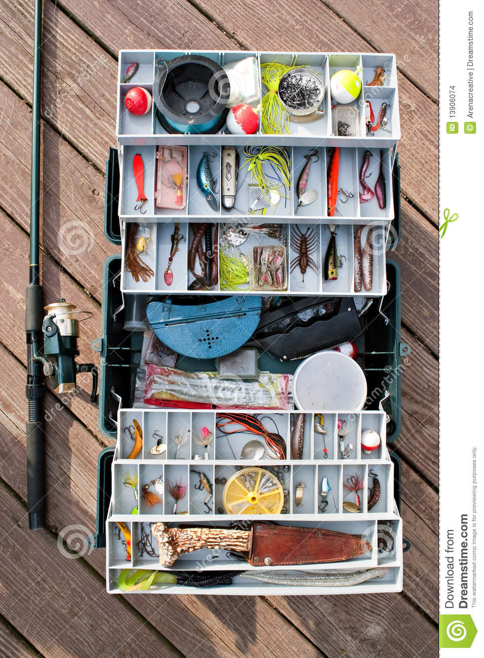 How to Organize a Fishing Tackle Box