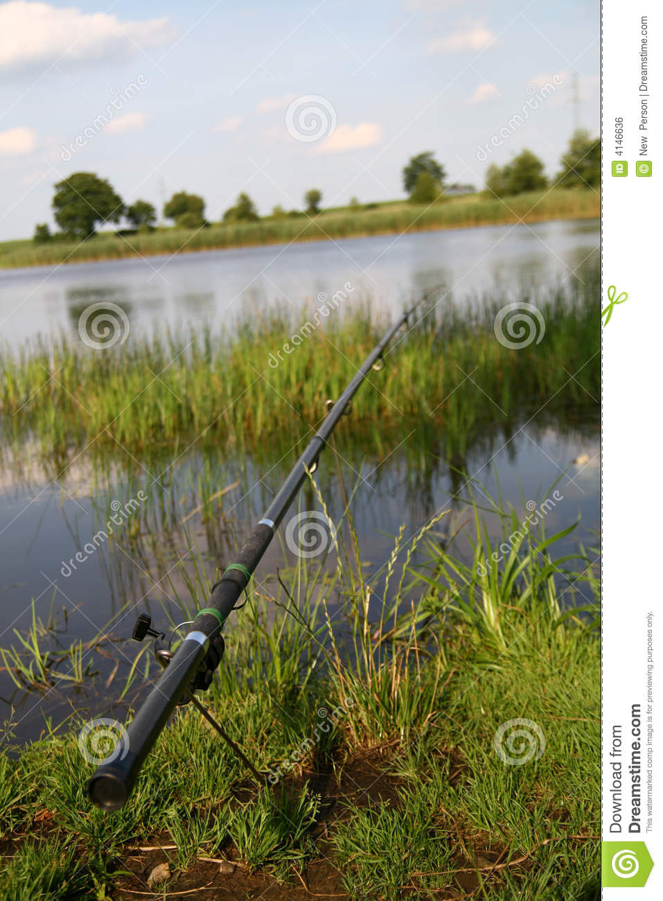 Fishing time royalty free stock image image 4146636 for Fishing times free