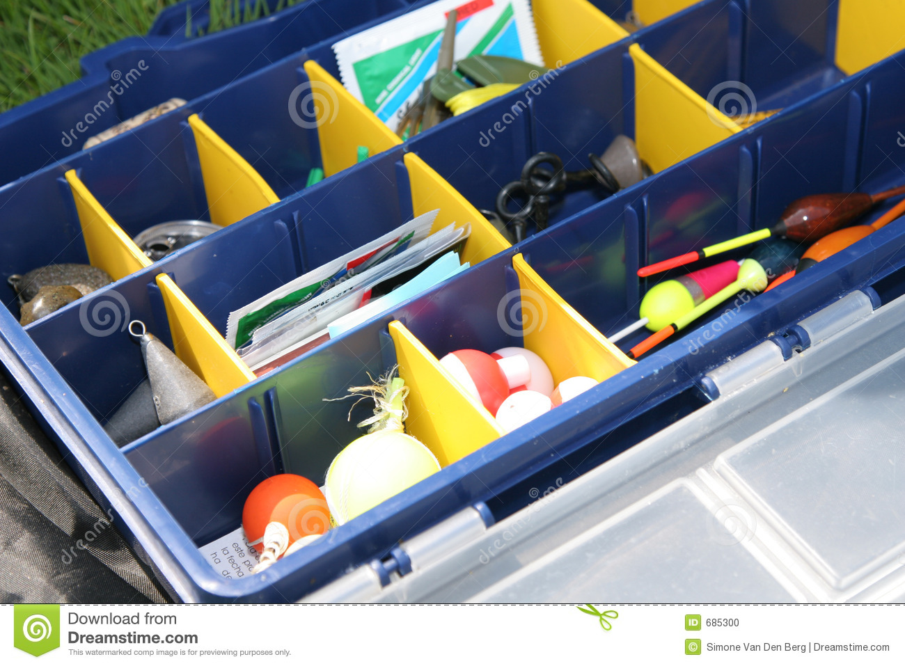Fishing Tool Box Stock Photo Image 685300