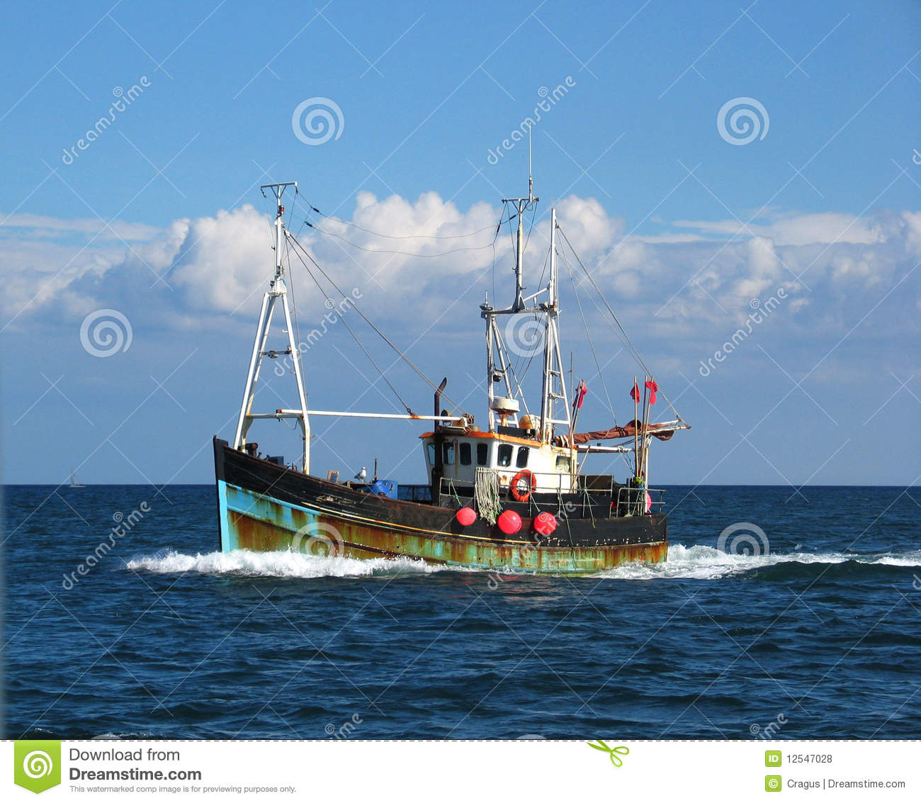 Fishing Trawler Royalty Free Stock Photos - Image: 12547028