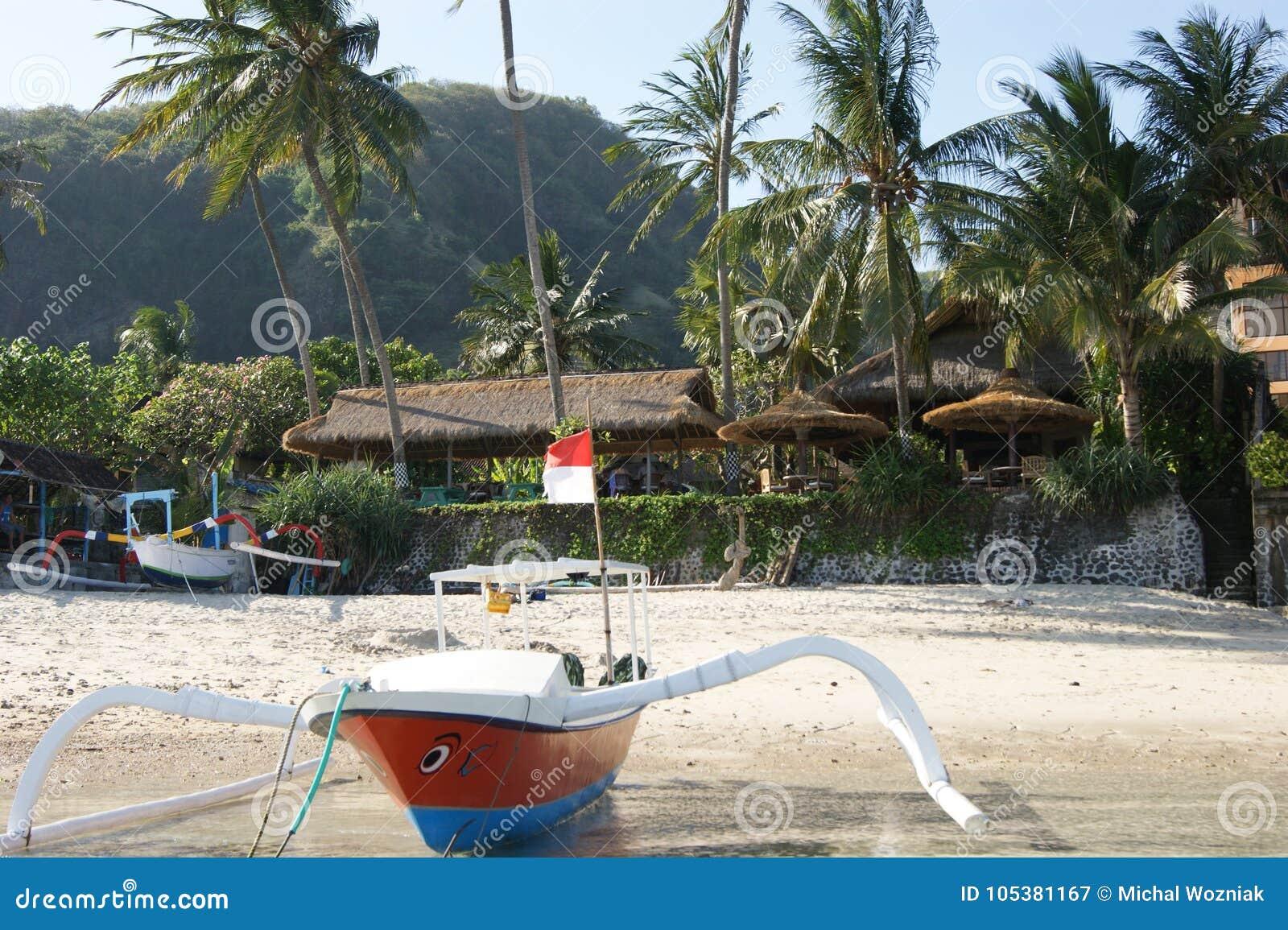 Fishing Trimaran in Bali, Indonesia