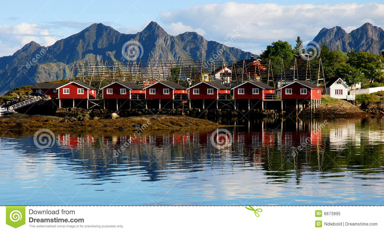 Fishing village royalty free stock photo image 6673995 for Who sells fishing license near me