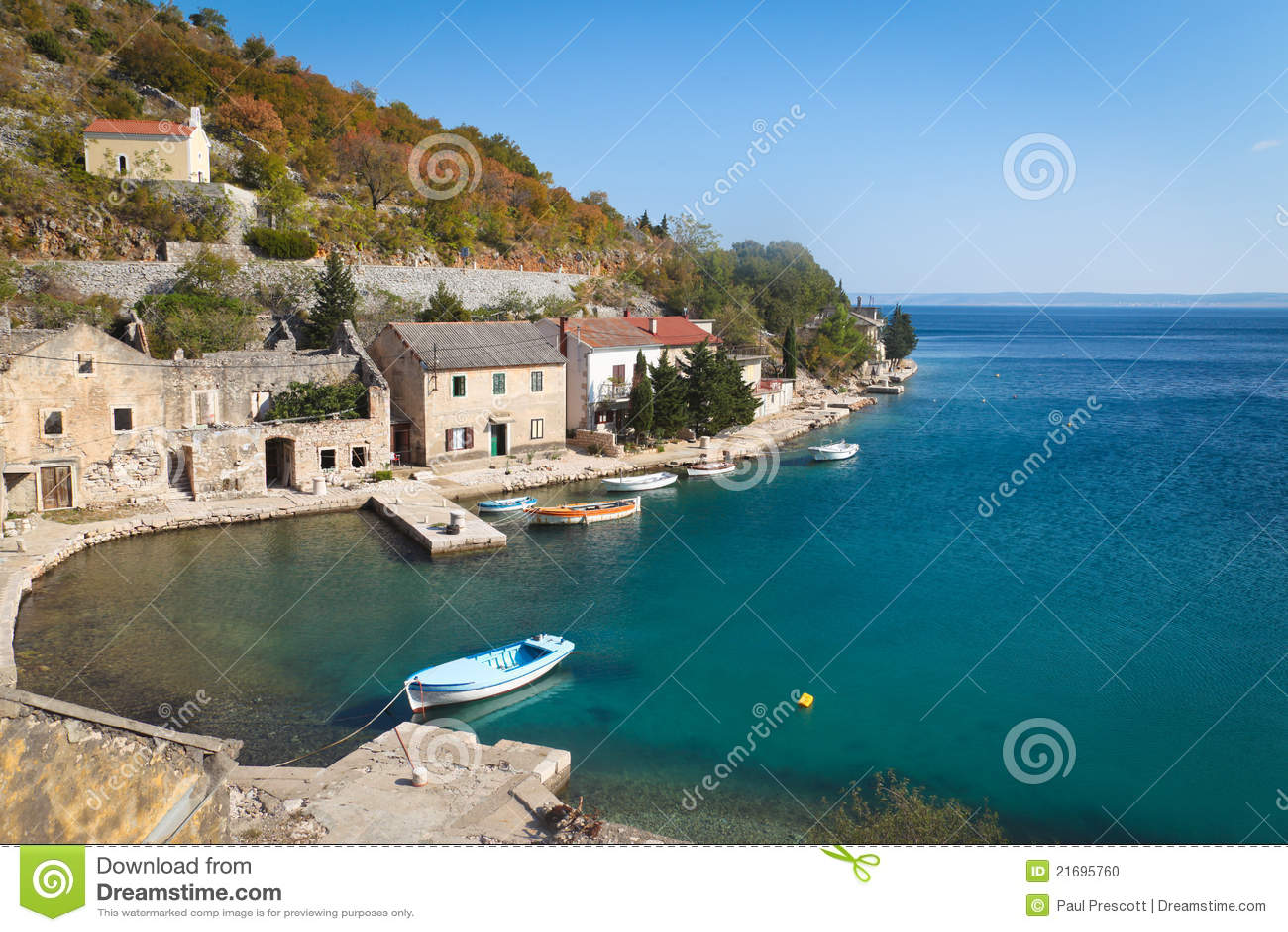 Fishing village in croatia stock photo image 21695760 for Fishing in croatia