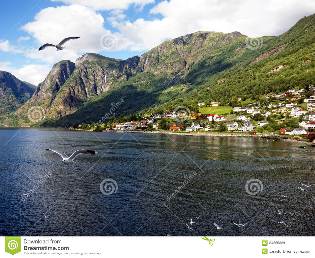 Fishing village in norway royalty free stock images for Fishing in norway