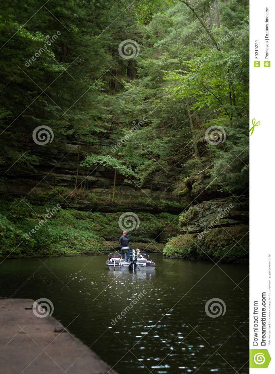 Fishing in the wisconsin river editorial stock image for Wisconsin dells fishing report