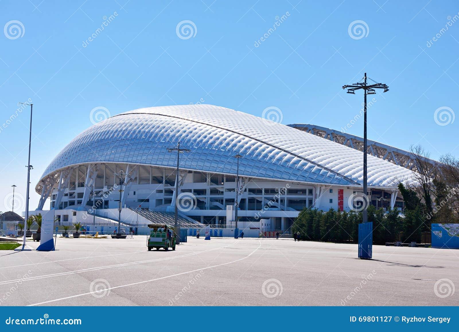 Fisht Olimpijski stadium jest na otwartym powietrzu stadium w Sochi