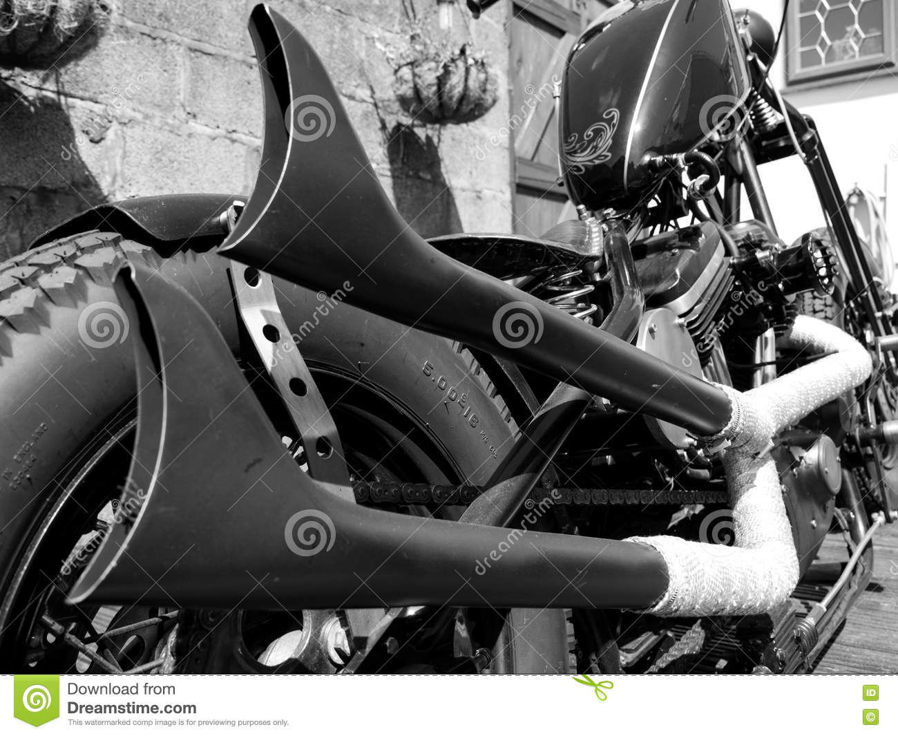 how to make motorcycle exhaust pipes