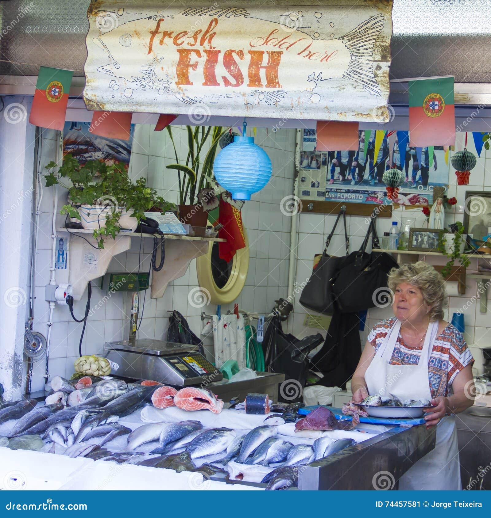 Fisk marknad - Mercado gör Bolhão