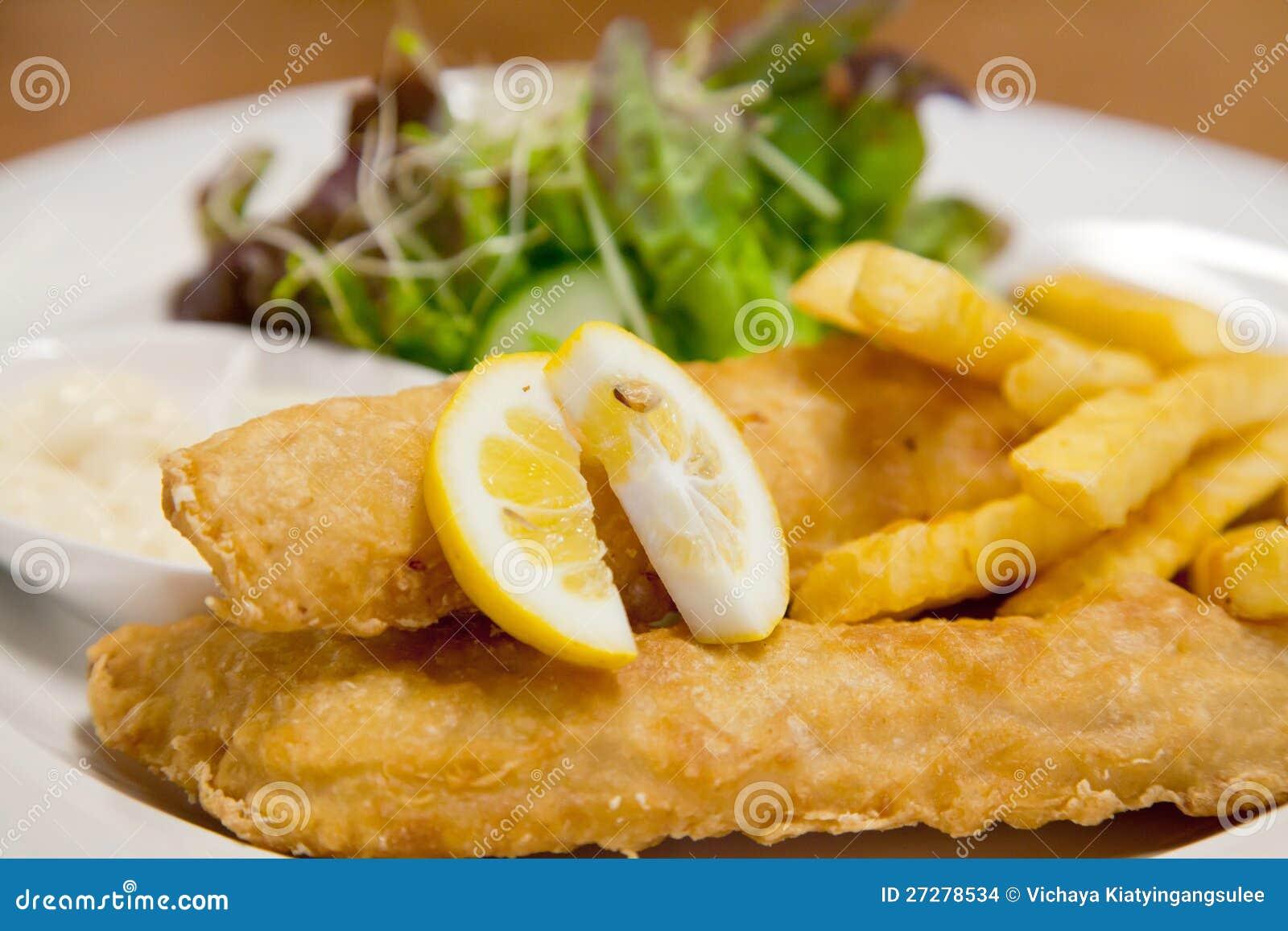 Fisk och chip