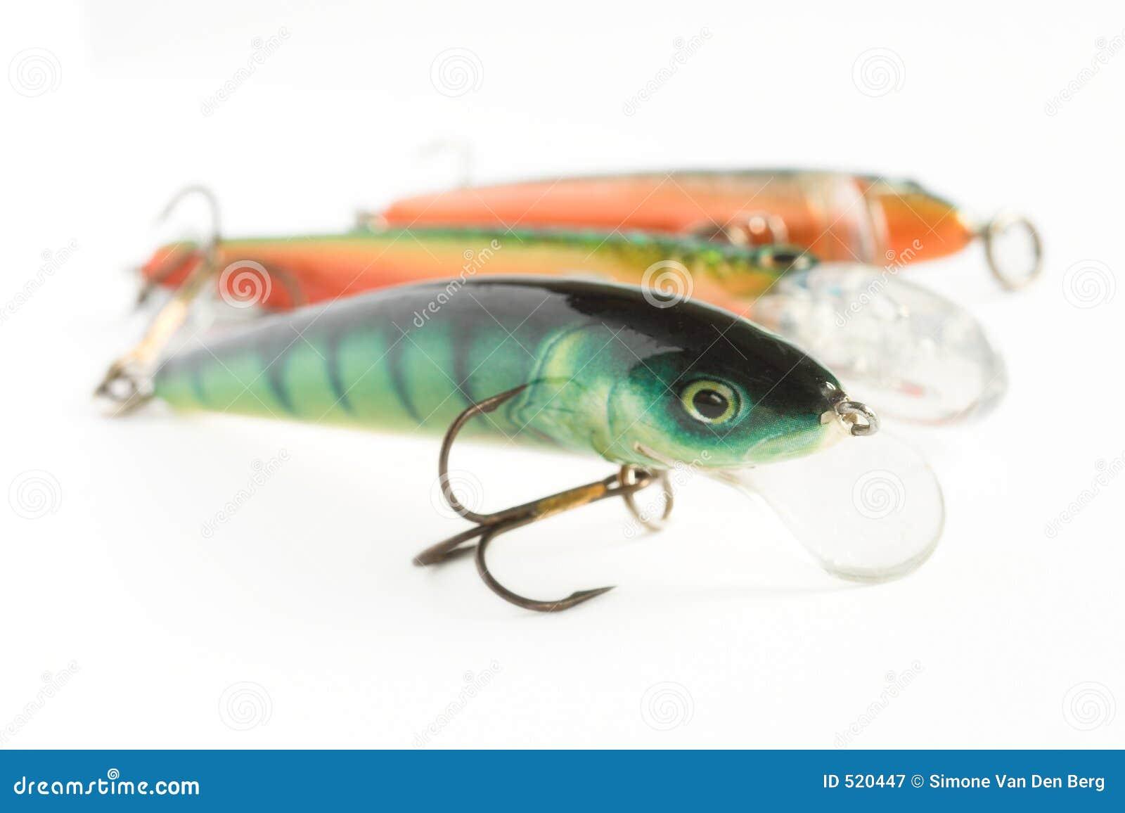 Fiske lockar tre