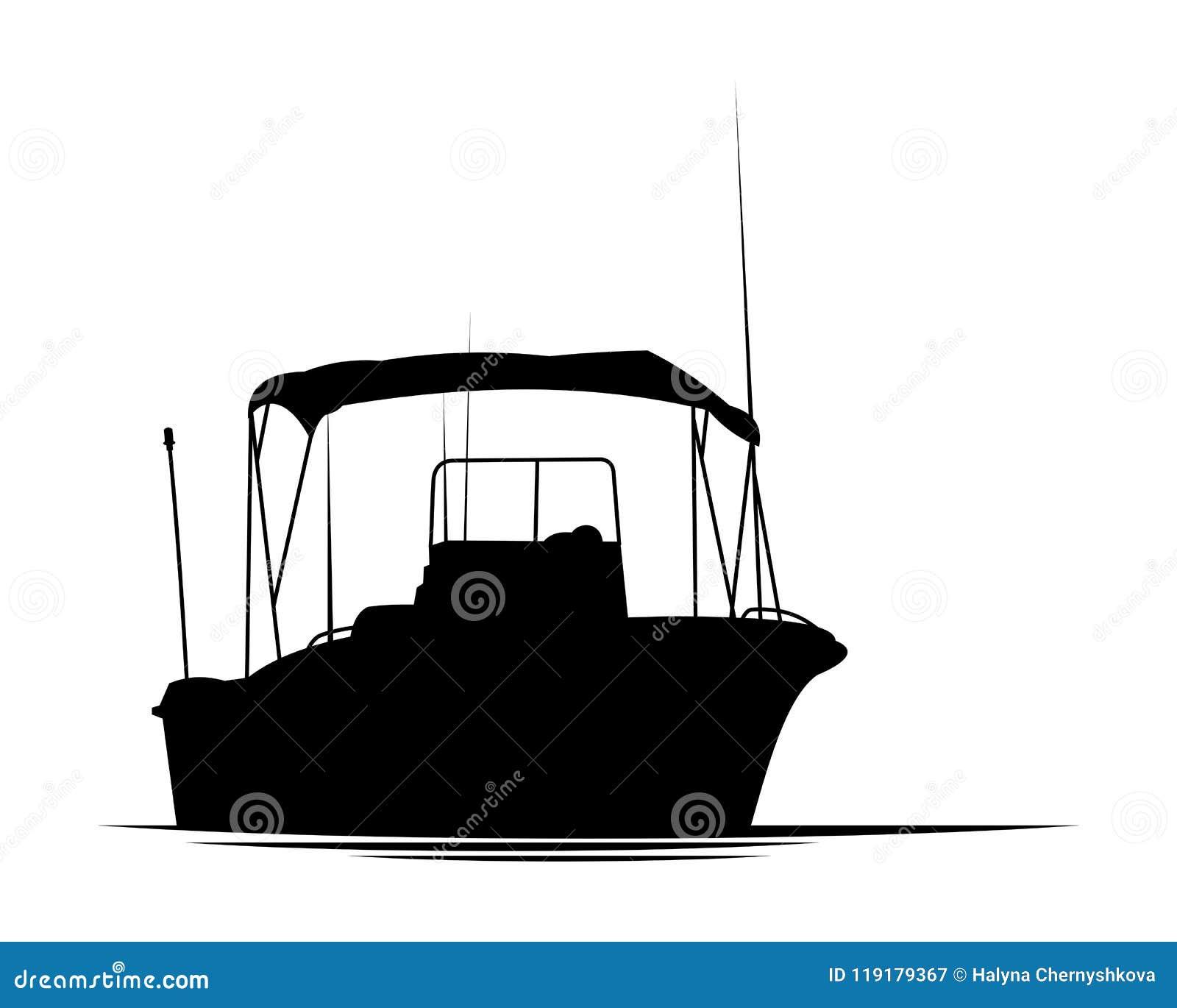 Fiskebåtkontur