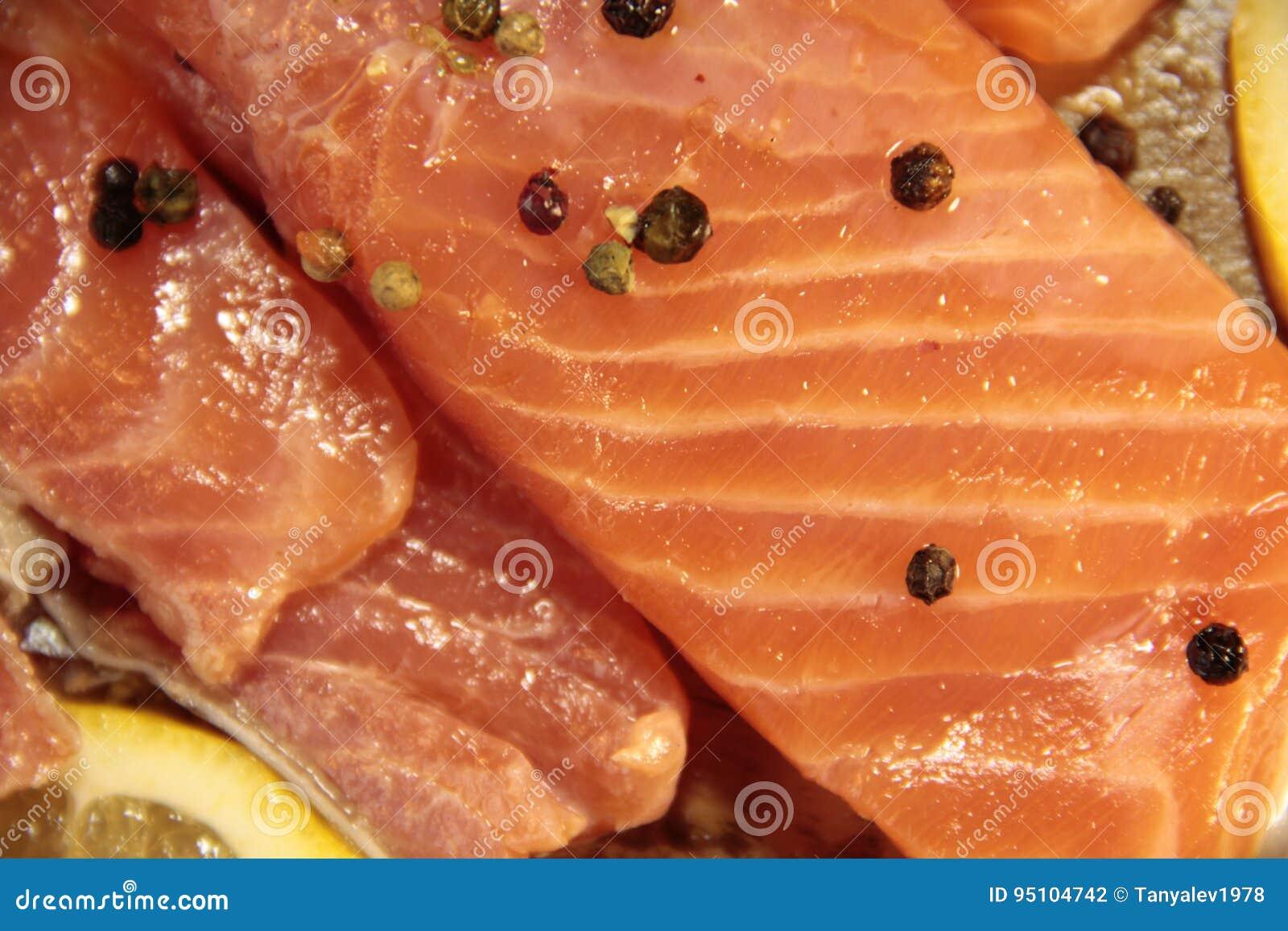 Fisklaxnärbild