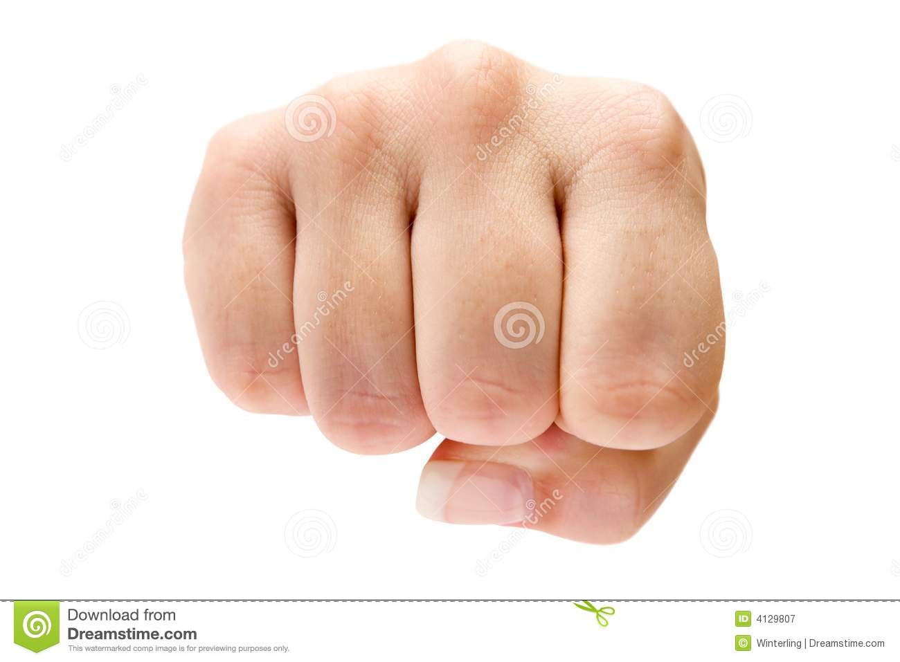 Fist Royalty Free Stock Photography - Image: 4129807: www.dreamstime.com/royalty-free-stock-photography-fist-image4129807
