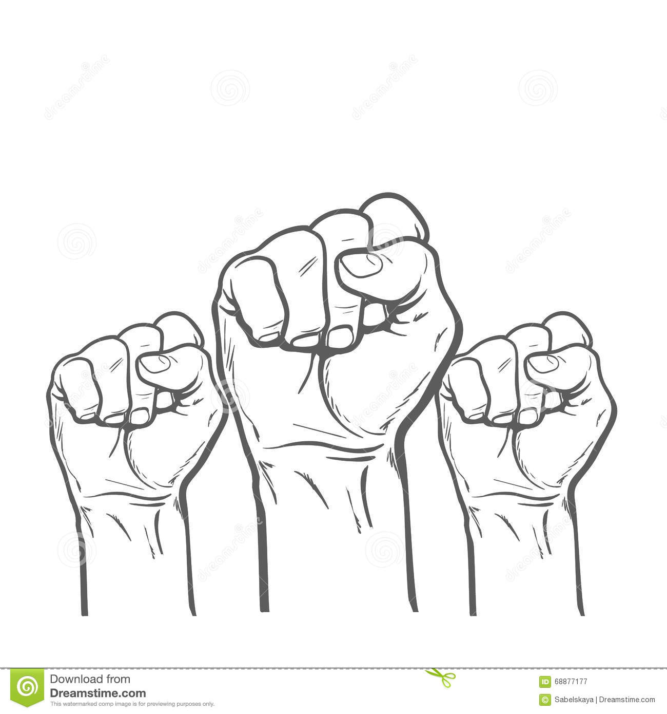 Luck stock illustrations 86338 luck stock illustrations fist as a symbol of good luck strength and determination raised fist strong biocorpaavc Image collections