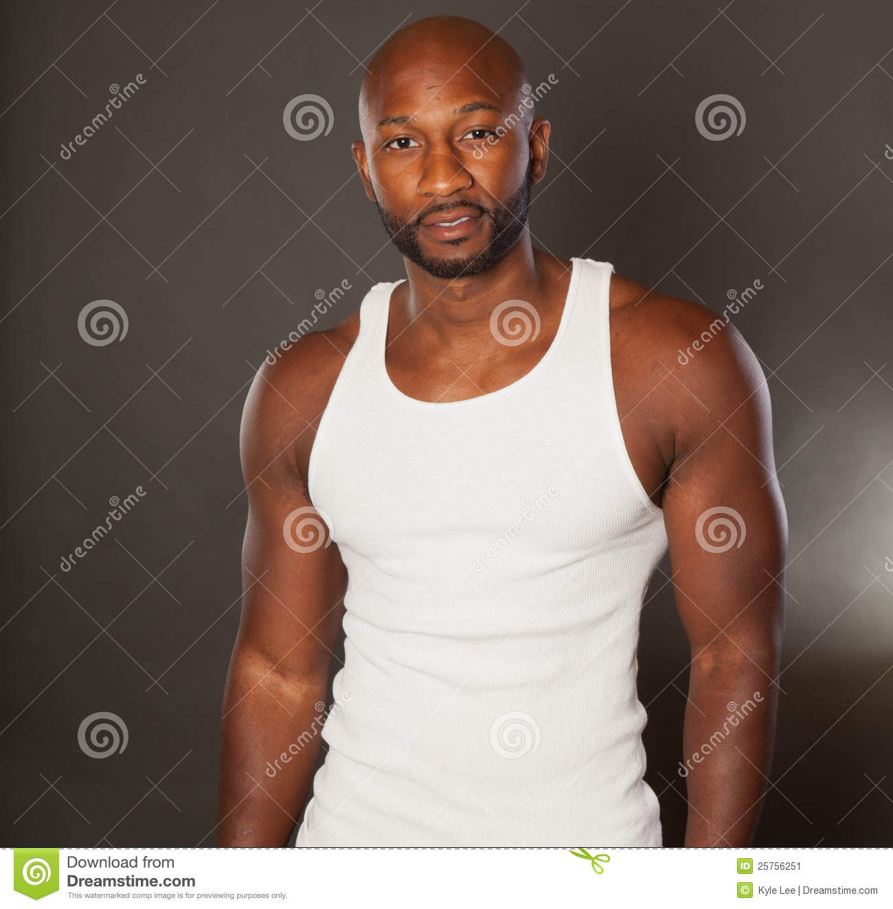 Fit African American Man Stock - 123.6KB