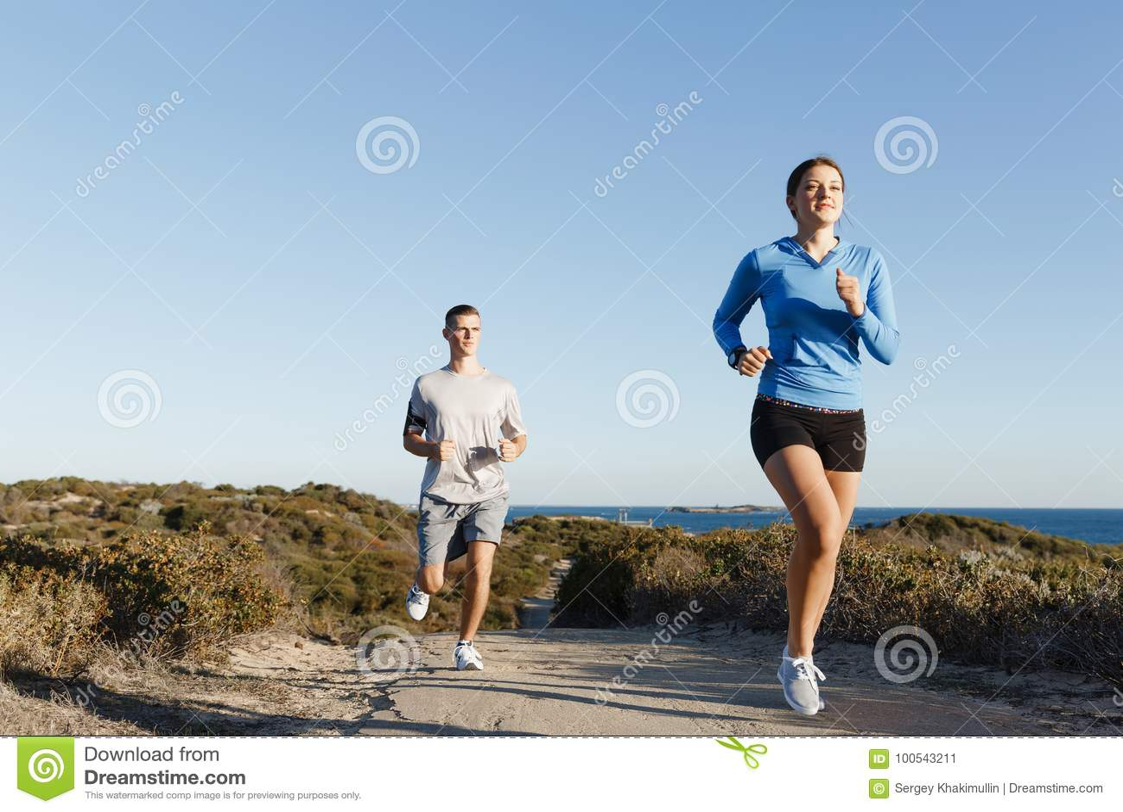 jogging partner