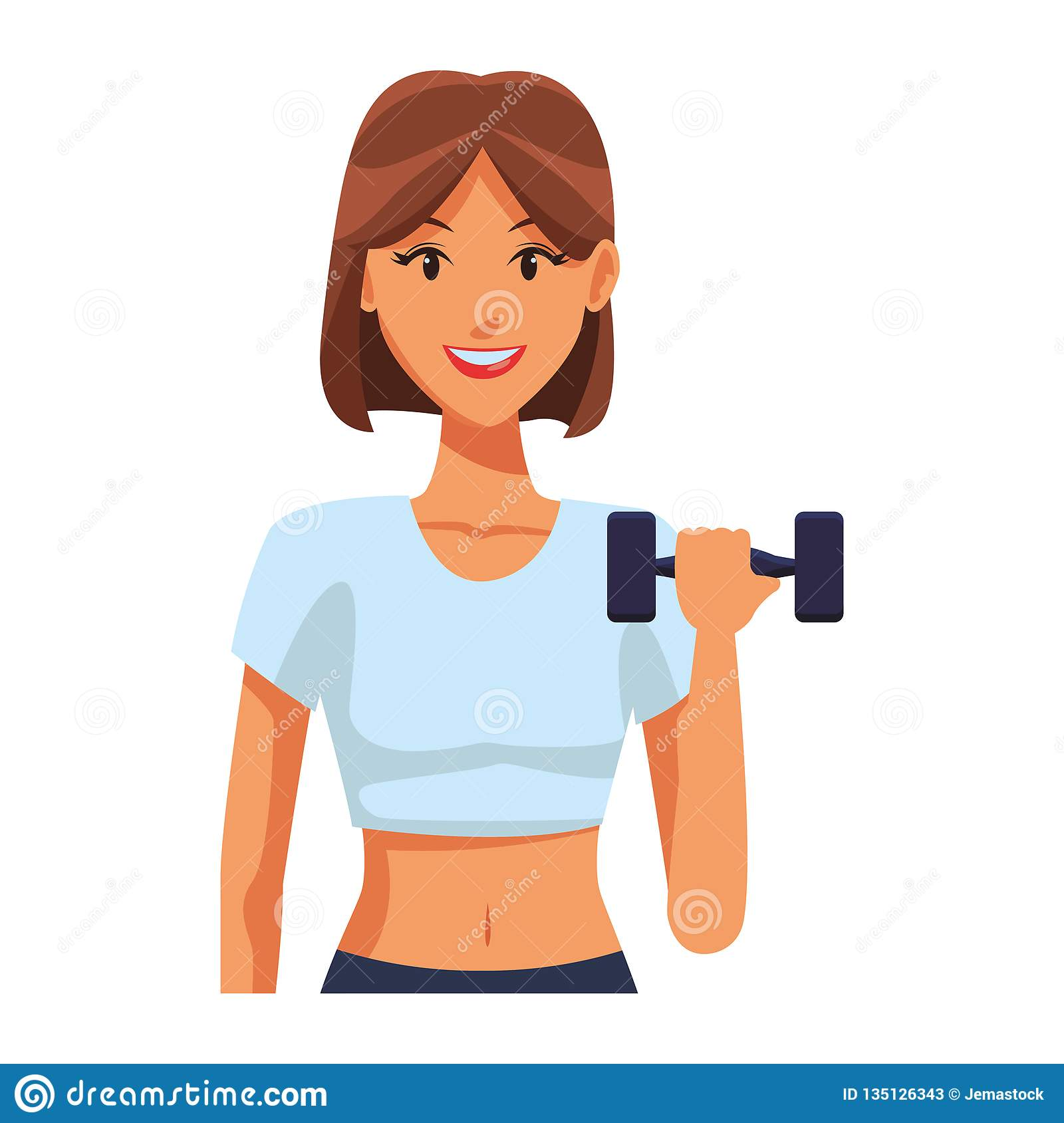 Fit Woman Doing Exercise Stock Vector Illustration Of Athlete 135126343 Discover thousands of free stock photos on freepik. https www dreamstime com fit woman doing exercise cartoon vector illustration graphic design fit woman doing exercise image135126343